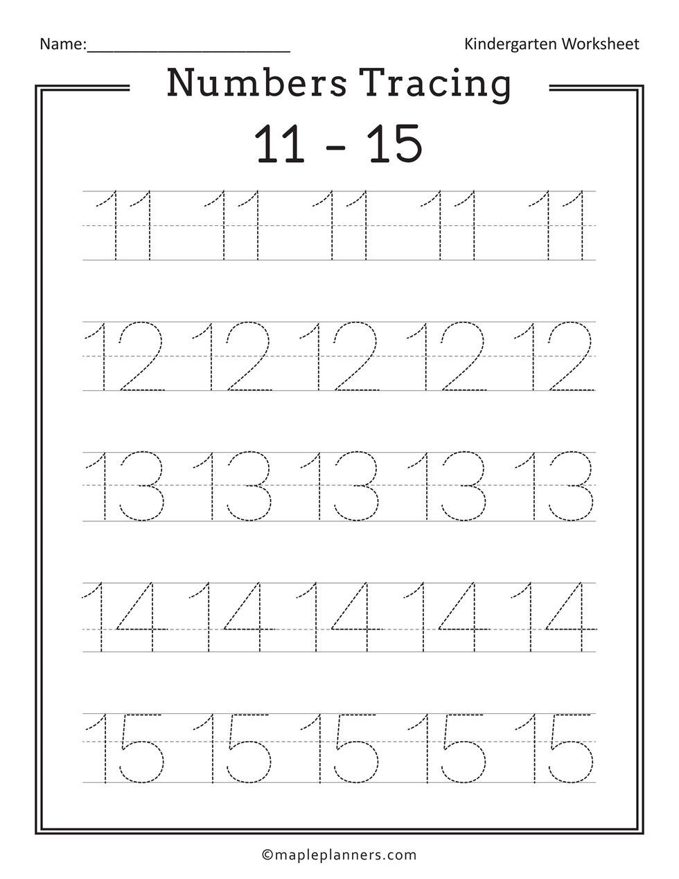 Free Printable Numbers Tracing 1 20 Worksheets For Kids In 2020 Free Printable Numbers Free Printable Handwriting Worksheets Handwriting Worksheets For Kindergarten