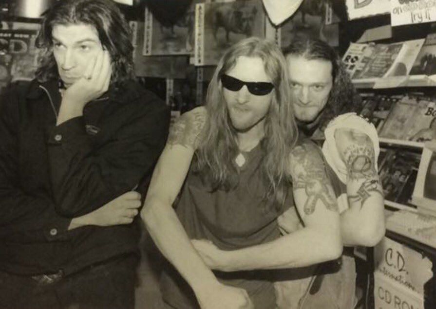 Sean Kinney Jerry Cantrell Alice In Chains Jerry Cantrell
