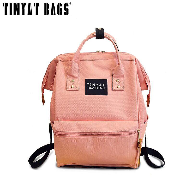 clearance sale highly coveted range of superior performance TINYAT 2017 Brand Fashion Women Backpack Bag Kanken Backpack ...
