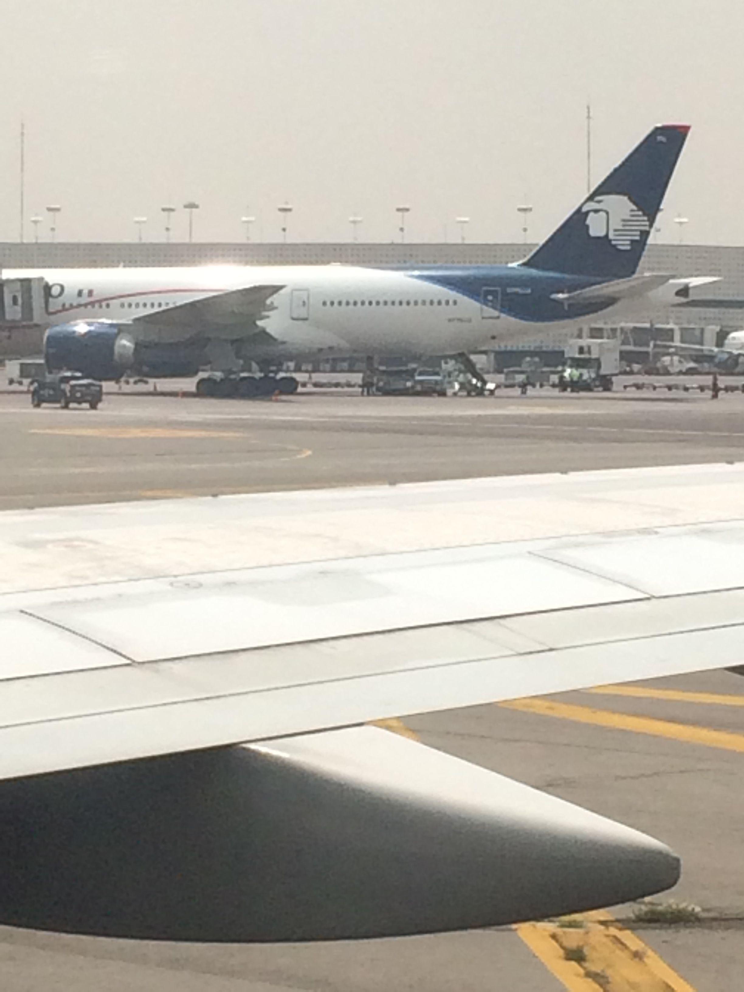 Aeroméxico On The Tarmac At Benito Juarez International