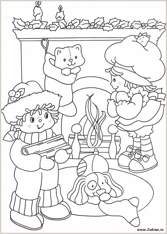 Coloring Book Princess Strawberry And Christmas