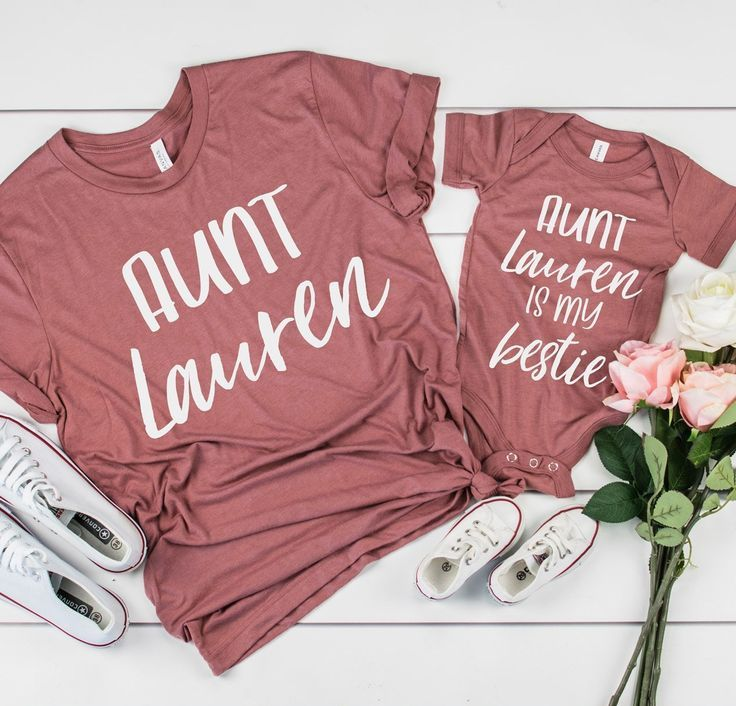 New Aunt Gift - Gift From Aunt - Auntie Gift - Aunt Shirt - Gift For Niece Best Friend Aunt Hospital Gift Baby From Aunt Aunt Niece Matching