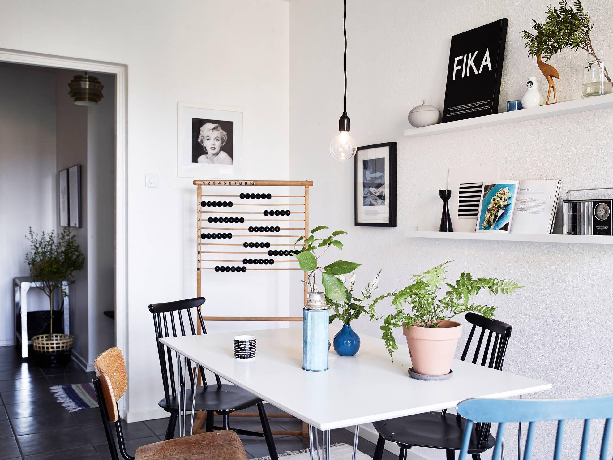 Küche Essbereich Deko Position