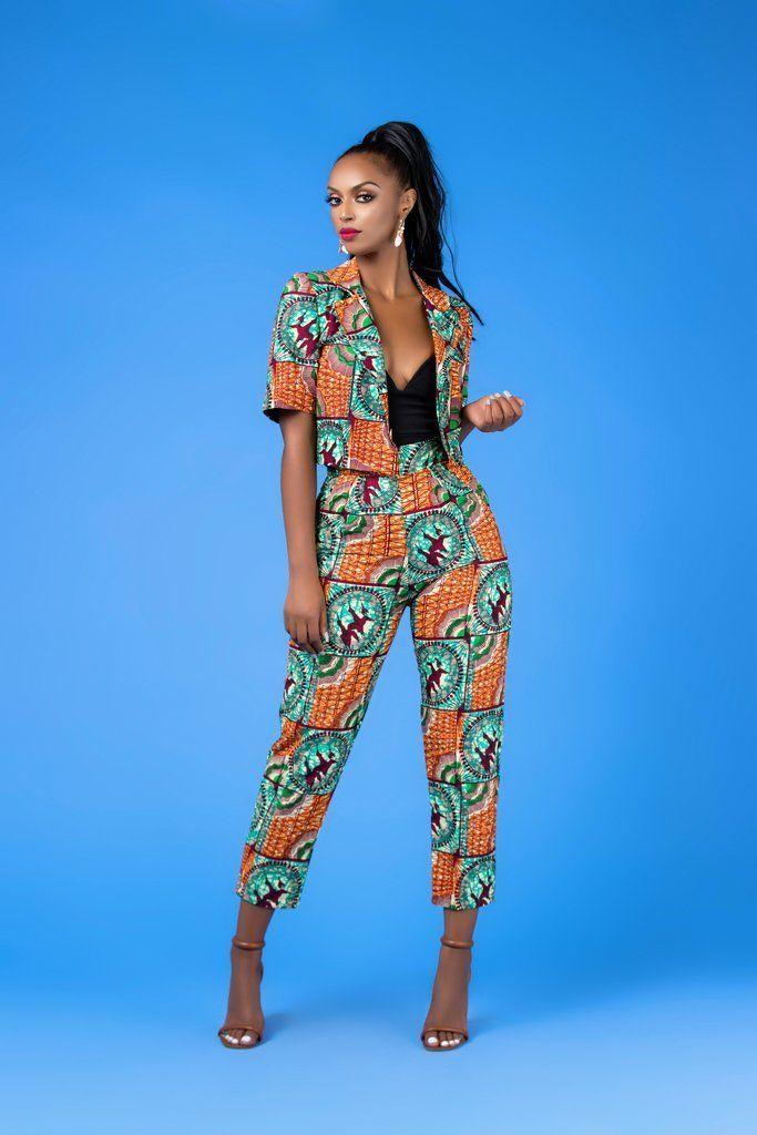 TINNA AFRICAN PRINT PANTS  #africanprint #africans... - #africaine #African #AfricanPrint #africans #Pants #print #TINNA #africanprintdresses