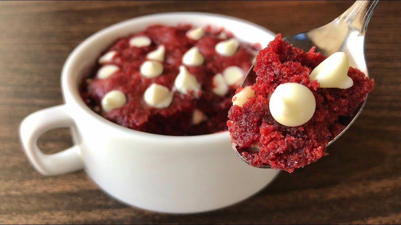 Microwave Red Velvet Mug Cake Eggless Recipe Em S Kitchen Youtube In 2020 Mug Cake Microwave Mug Cake Eggless Mug Cake