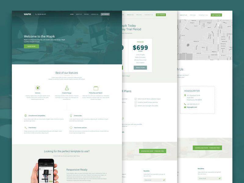 Wapik Template Creative Agency Web Design