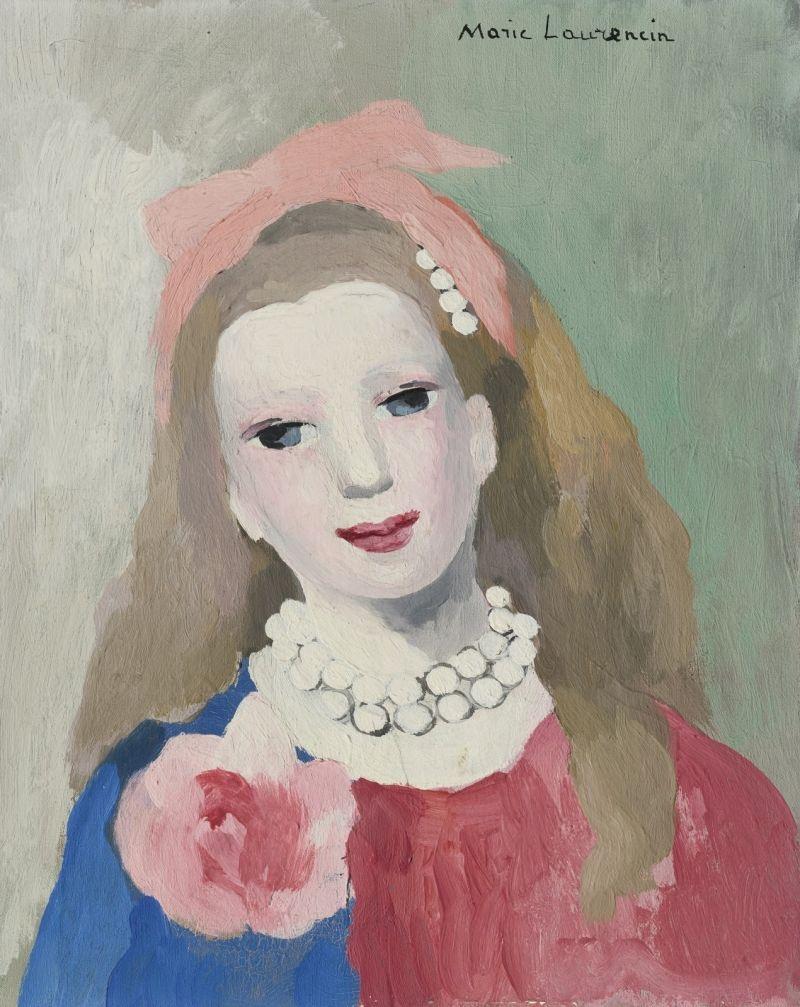 Akvarelnopastelnye Sozdaniya Strany Fej Marie Laurencin