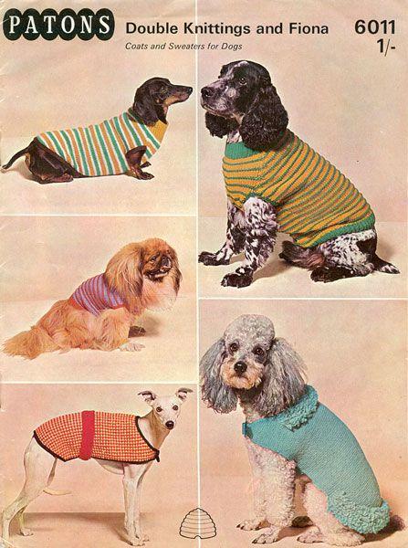 dog coats !! | lollycat | Pinterest | Stricken, Hundepullover ...