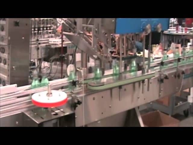 Large Frame Automatic Overflow (Fill to Level) Filling Machine Demonstration