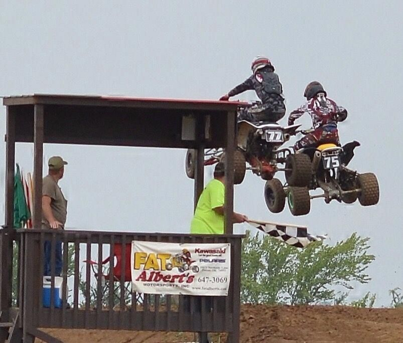 """See our site for additional info on """"ATV Racing"""