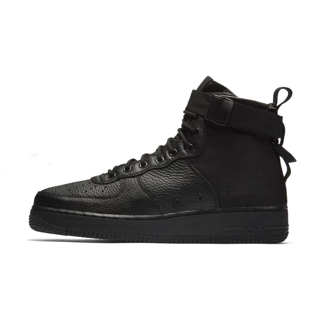 Nike SF Air Force 1 Mid Men's Shoe Size 10.5 (Black)   Air