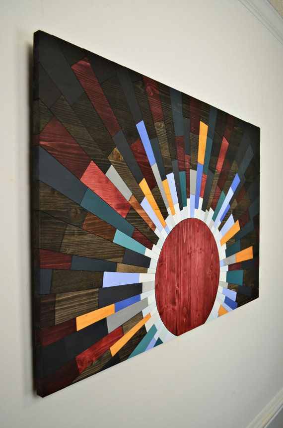 Wood Wall Art Here Comes The Sun Wooden