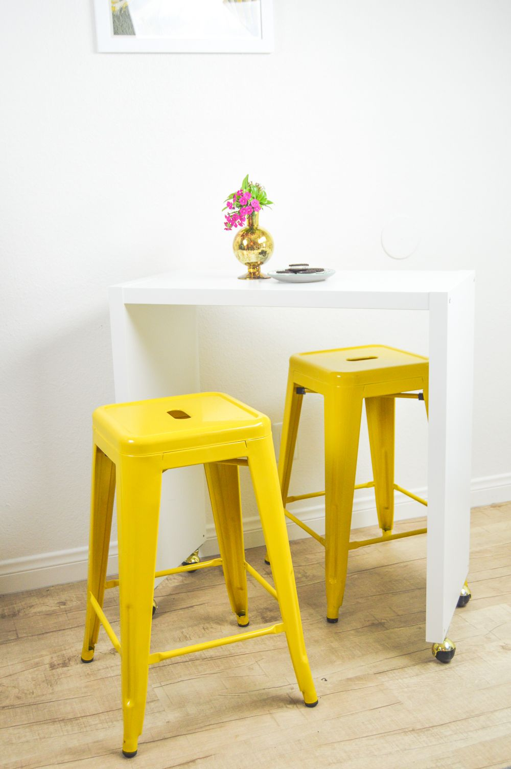 DIY Rolling Kitchen Island or Bar (IKEA Hack!) Rolling