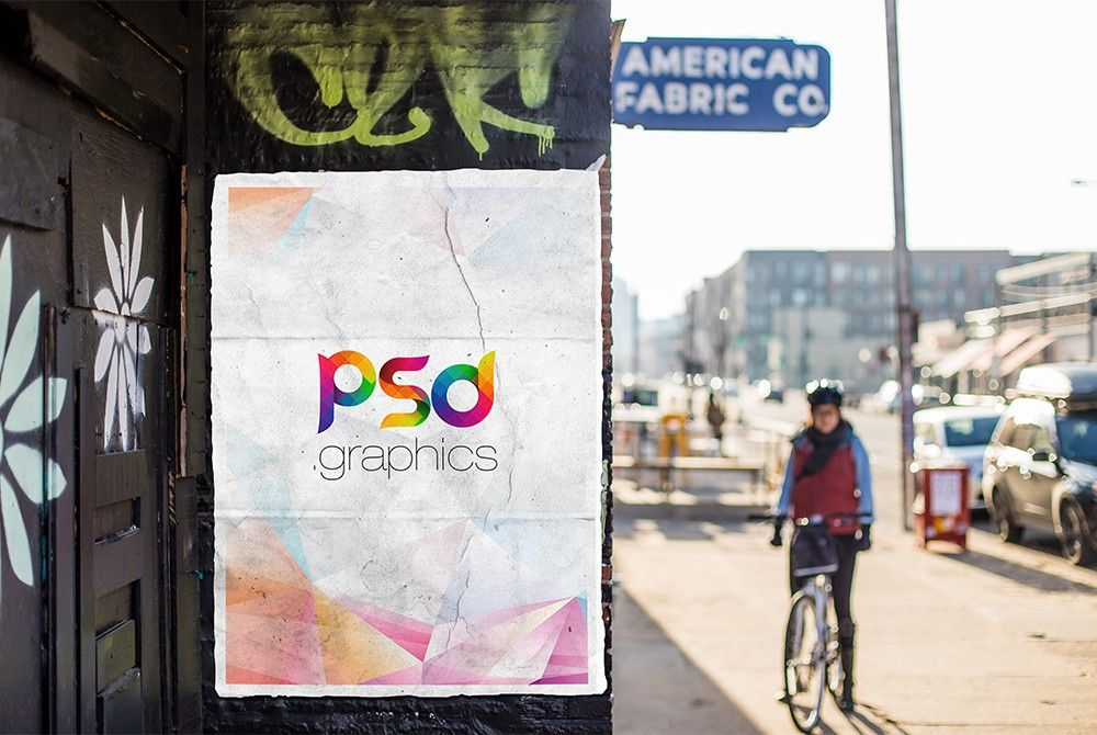 Download Free Urban Outdoor Poster Mockup Psd Di 2020