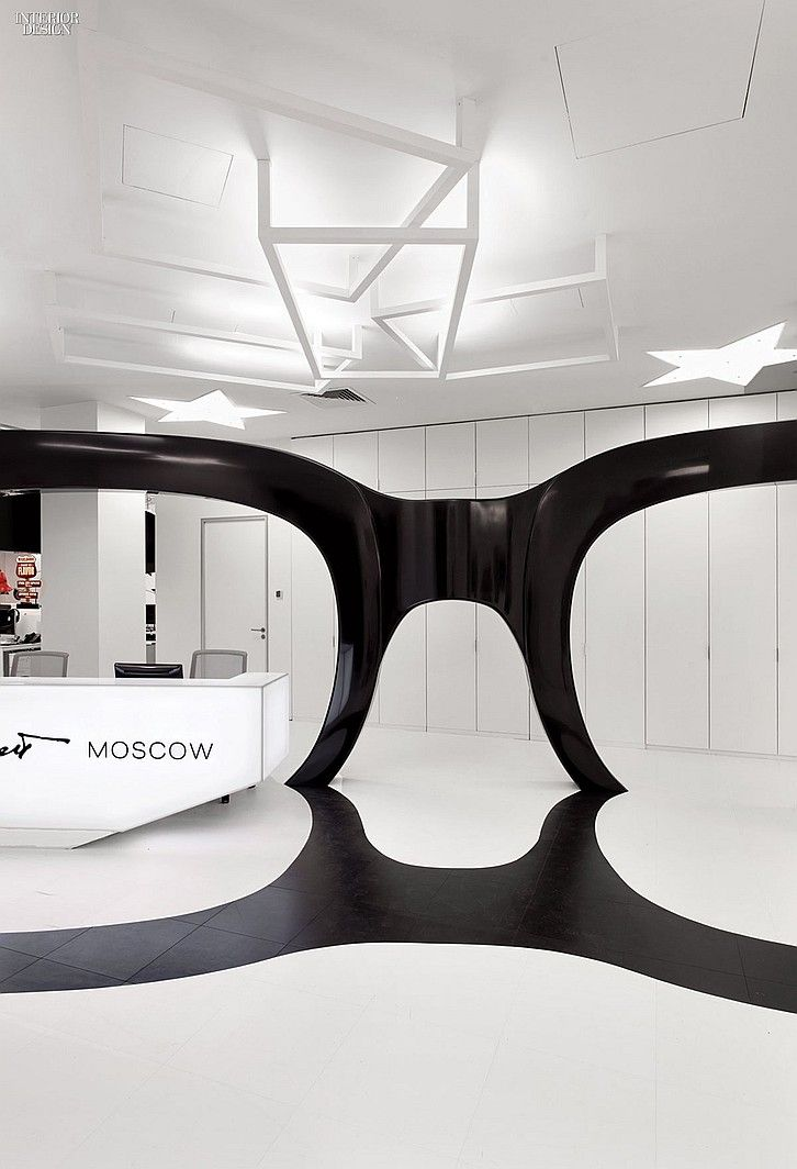 20/20 Vision: Leo Burnett Office by Nefa Architects | Projects | Interior Design #glasses