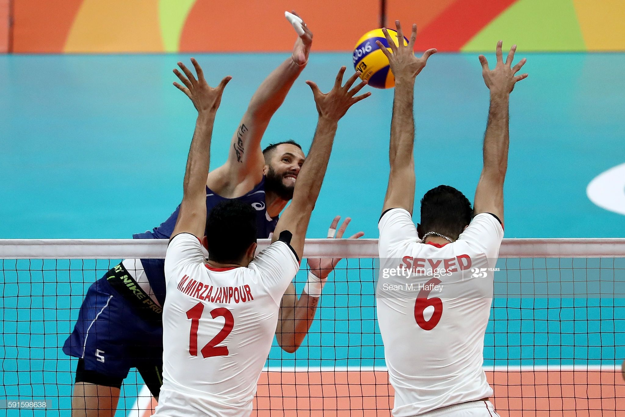 M Mojtaba Mirzajanpour And Seyed Mohammad Mousavi Eraghi Of Iran In 2020 Rio Olympics 2016 2016 Olympic Games Olympics 2016