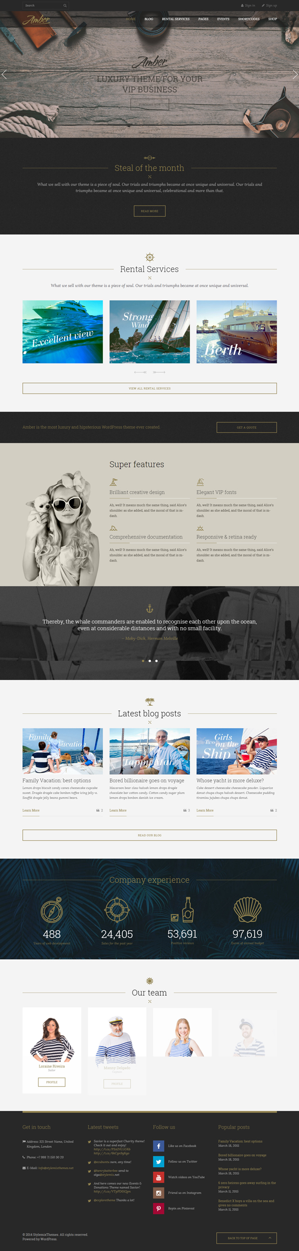 16 New Responsive Html5 Wordpress Themes Wordpress Theme Web Design Web Design Inspiration