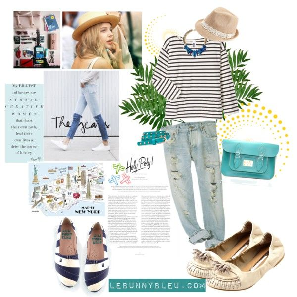 """LeBunny Bleu - White Classic Tassel Flats"" by lebunnybleu on Polyvore"