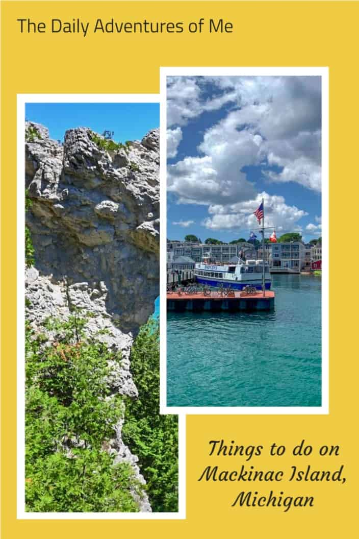 A Day Trip To Mackinac Island Michigan The Daily Adventures Of Me In 2021 Mackinac Island Island Travel Cool Places To Visit