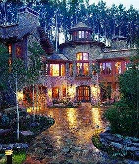 Custom Mountain Architects Vail Colorado Rmt