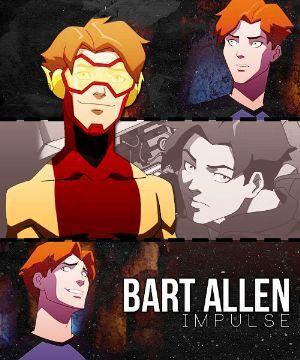 Impulse/Bart Allen x reader/OC - S/n: Haircut | batman | Young