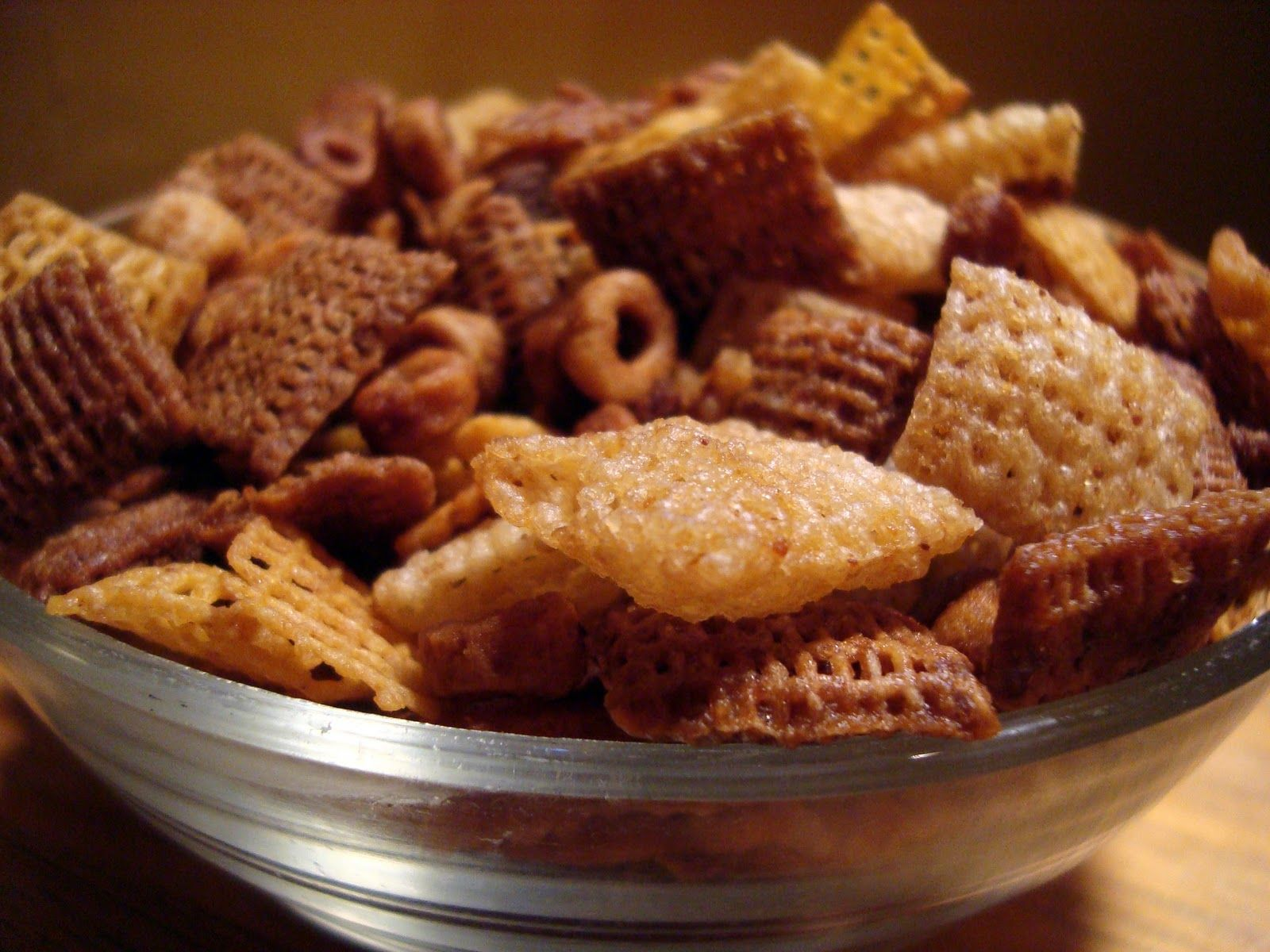 HOME MADE CHEX MIX WITH JUST MY FAVS