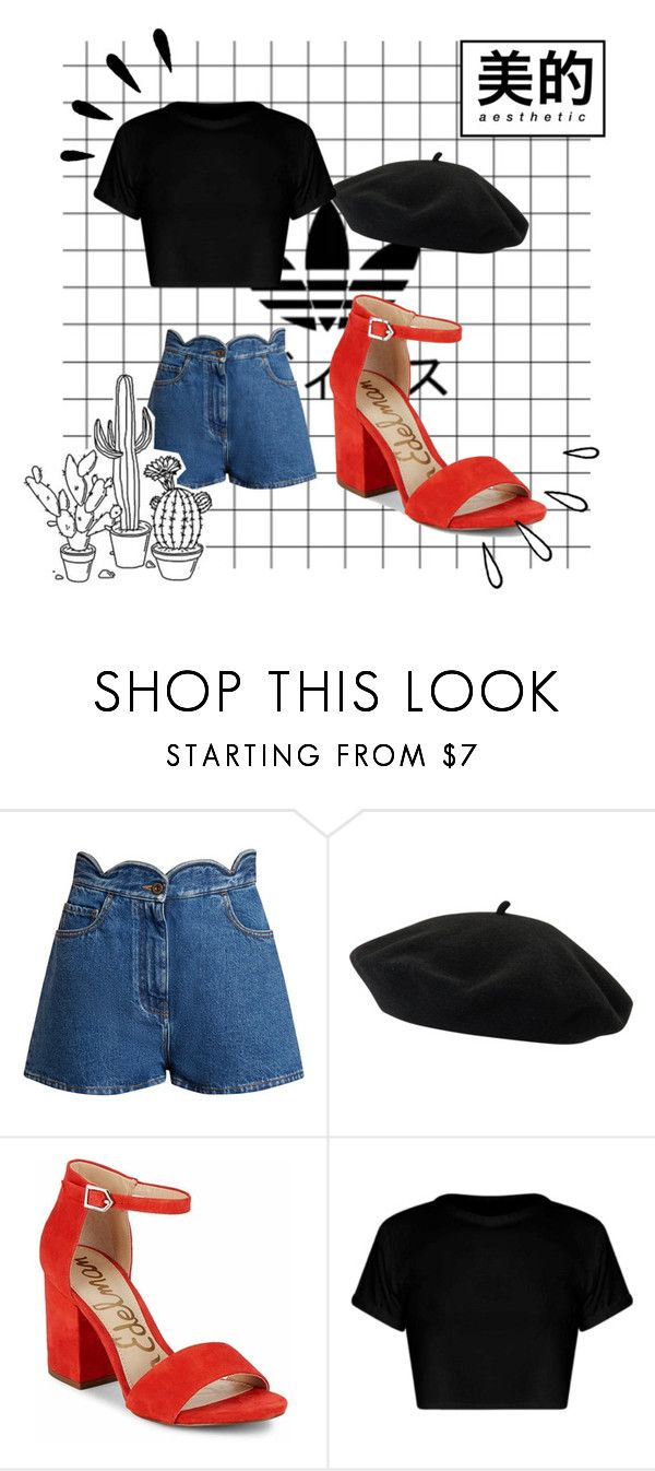 Chic and Traveler by elipertuz on Polyvore featuring moda, Valentino, Sam Edelman, Goorin and Old Navy