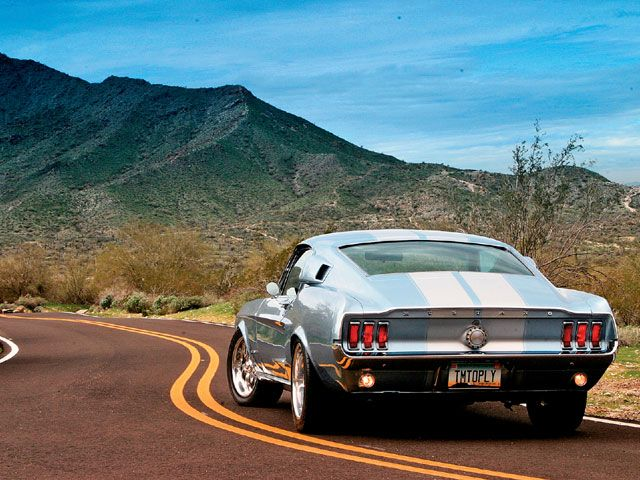 1967 Ford Mustang Fastback And An Open Road Count Us In