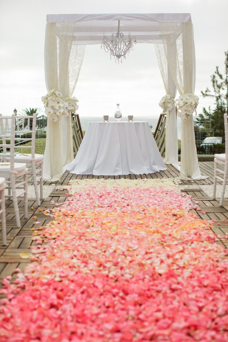50 Beach Wedding Aisle Decoration Ideas Vow Renewal Coral
