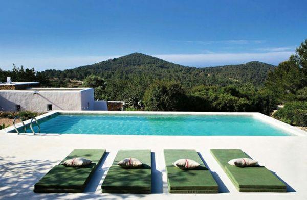 Ideal  Bilder von Pool im Garten designrulz pool infinity schwimmbecken