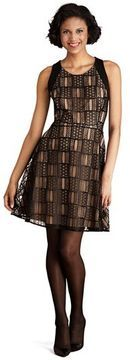 Donna Morgan Lace Fit & Flare Dress on shopstyle.com