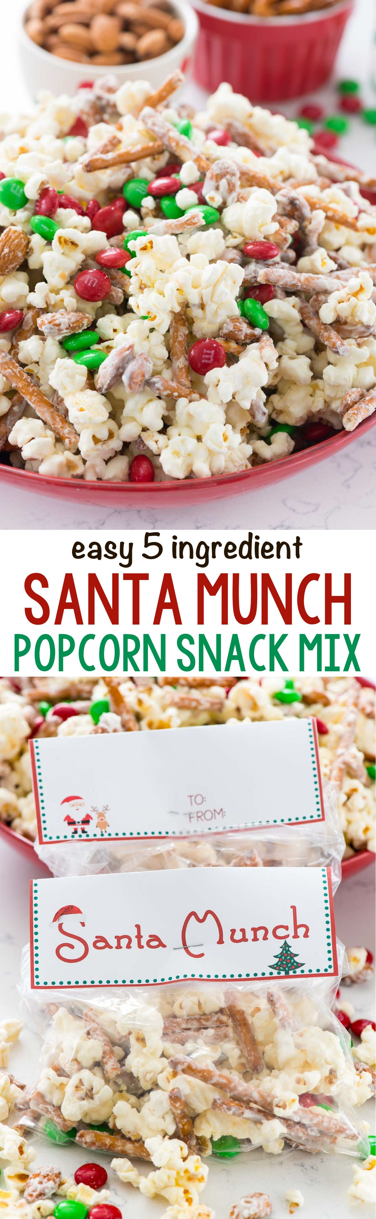 Santa Munch Popcorn Snack Mix – Crazy for Crust