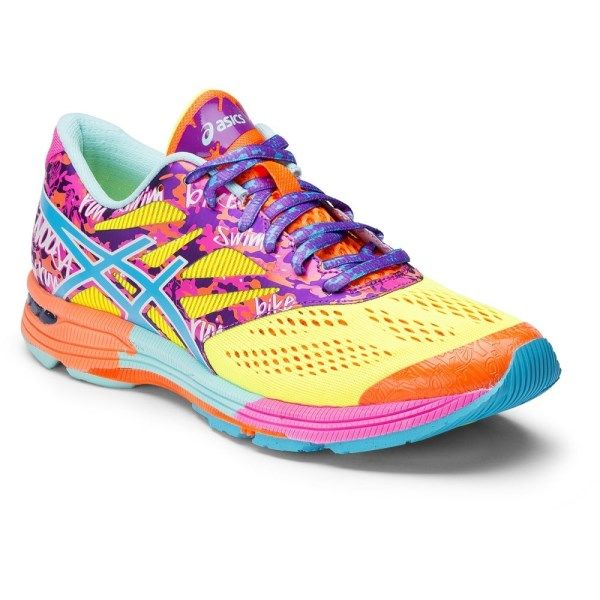 Cheap New Style Asics Women's Gel-Noosa Tri 10 Running Shoes Cheap - Flash Yellow/Turquoise/Flash Pink