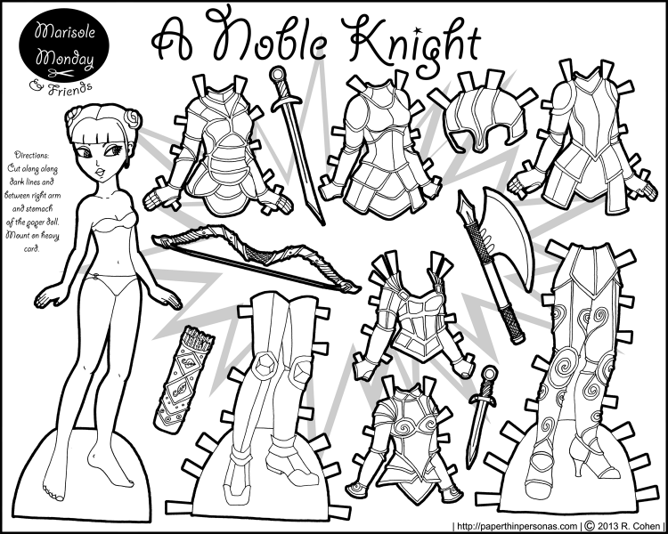 Marisole Monday Friends A Noble Knight