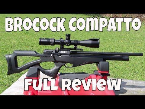 REVIEW: Brocock Compatto Air Gun  22 - Power + Accuracy