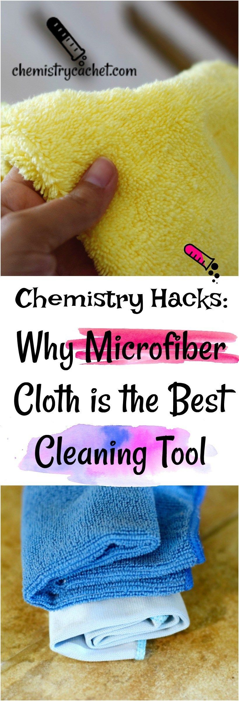 Chemistry Hacks: Why Microfiber Cloth is the Best Cleaning Tool