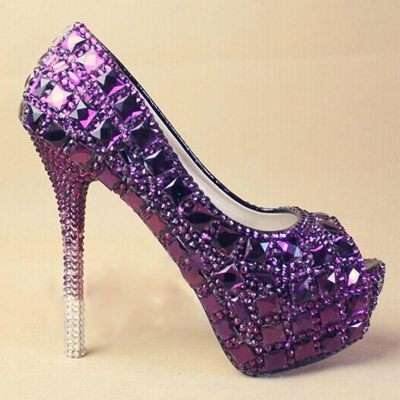 Welcome to JACK CHENG Shoes Description Color: Purple Toe Shape ...