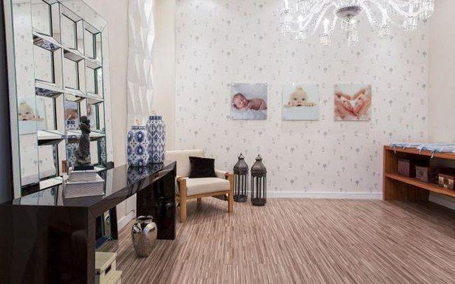 Na Casa Cor 2014 a designer de interiores Roberta Rocino utilizou em seu Fraldário caixas Croco Marfim e Champs Elysées Boxmania.