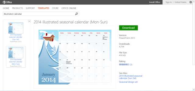 Free Digital Or Printable Calendar Templates For Microsoft Office