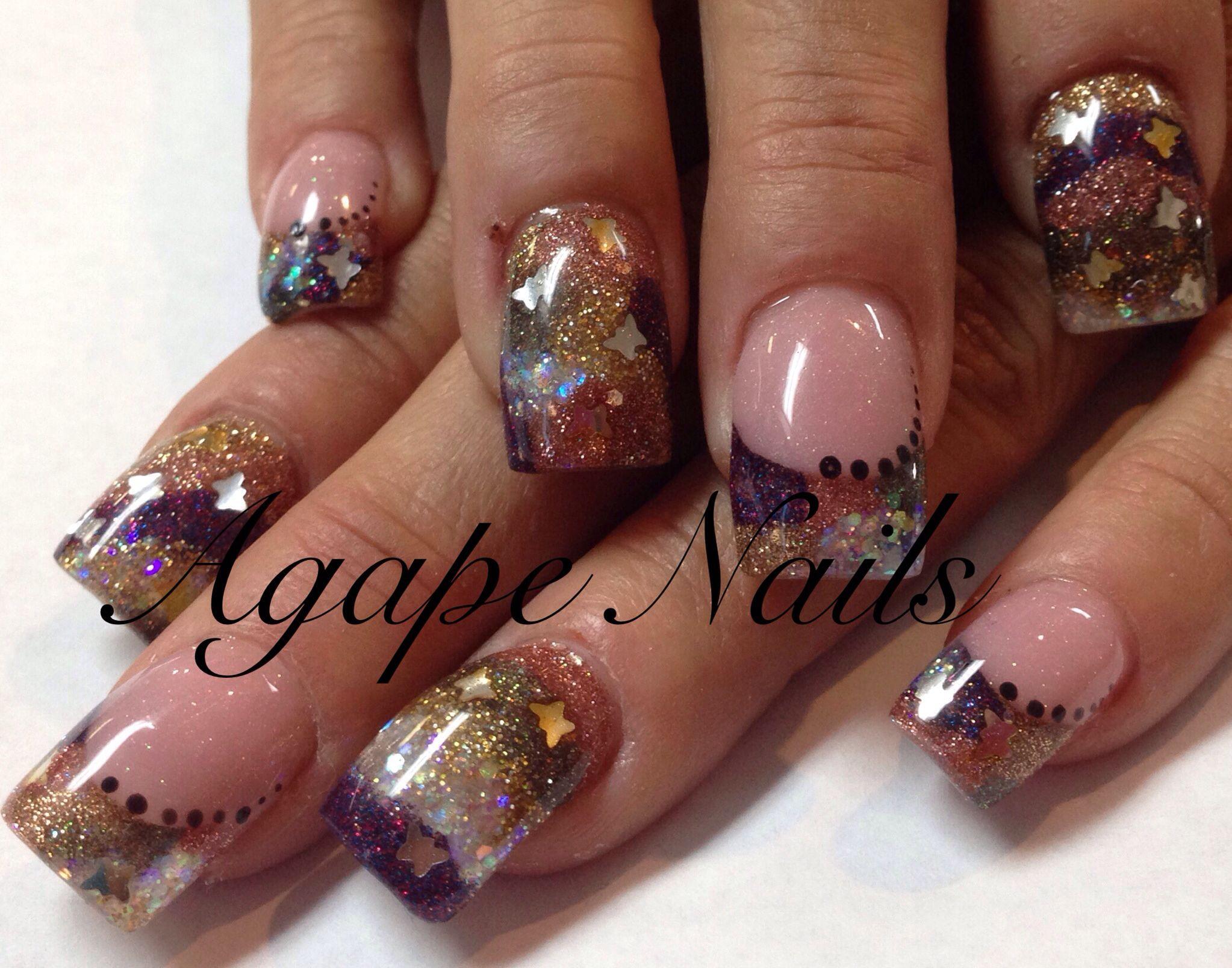Pin By Agape Nails Nails On Nails Gel Nail Art Designs Long Nail Designs Fashion Nails