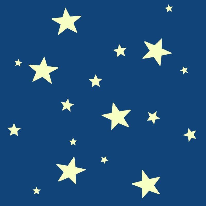 Toiles lumineuses stickers une d coration id ale pour la chambre de votre enfant 7 95 - Etoile lumineuse pour chambre ...