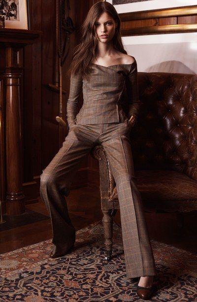 Ralph Lauren Pre-Fall 2017 Fashion Show #ralphlaurenwomensclothing