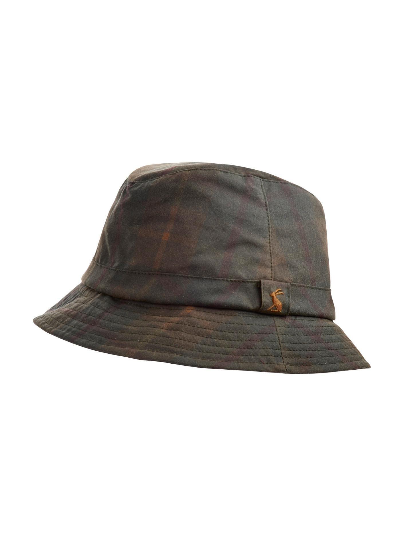 f54ae8feb39 Joules Womens Tartan Wax Hat