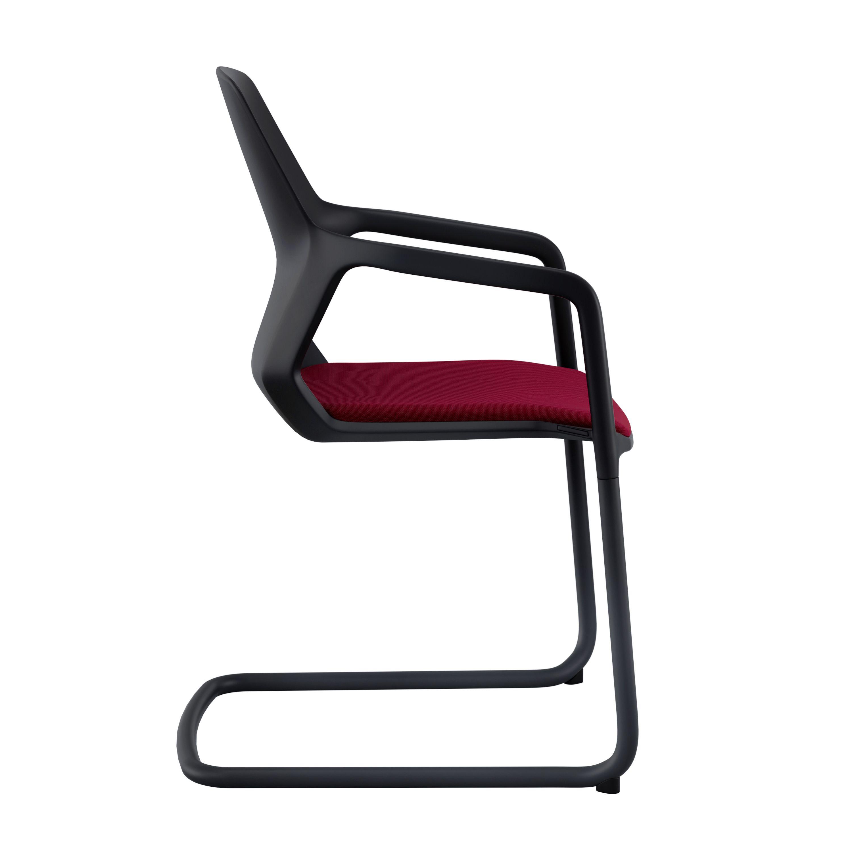 Metrik Chair Cantilever Chair Desing By Whiteid Wilkhahn
