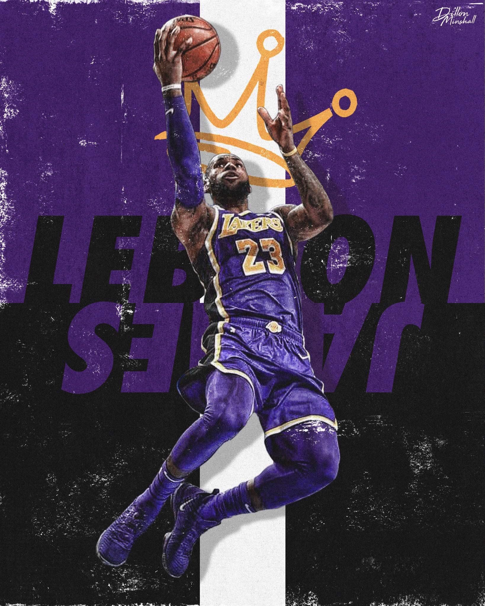 lebron poster