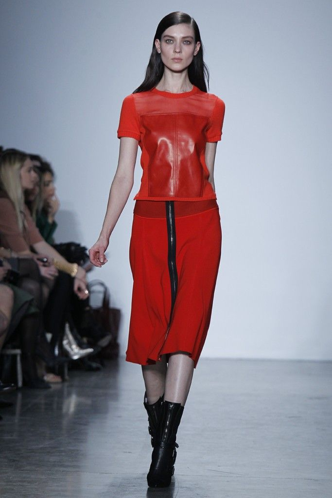 Ravenous for red:  Reed Krakoff
