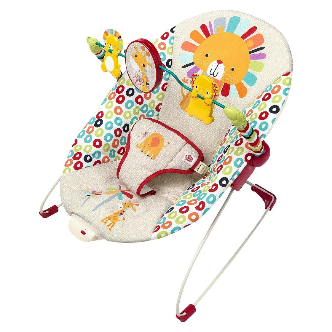 Uncategorized fisher price comfort curve bouncer new free shipping ebay - Bright Starts Bouncer Playful Pinwheels