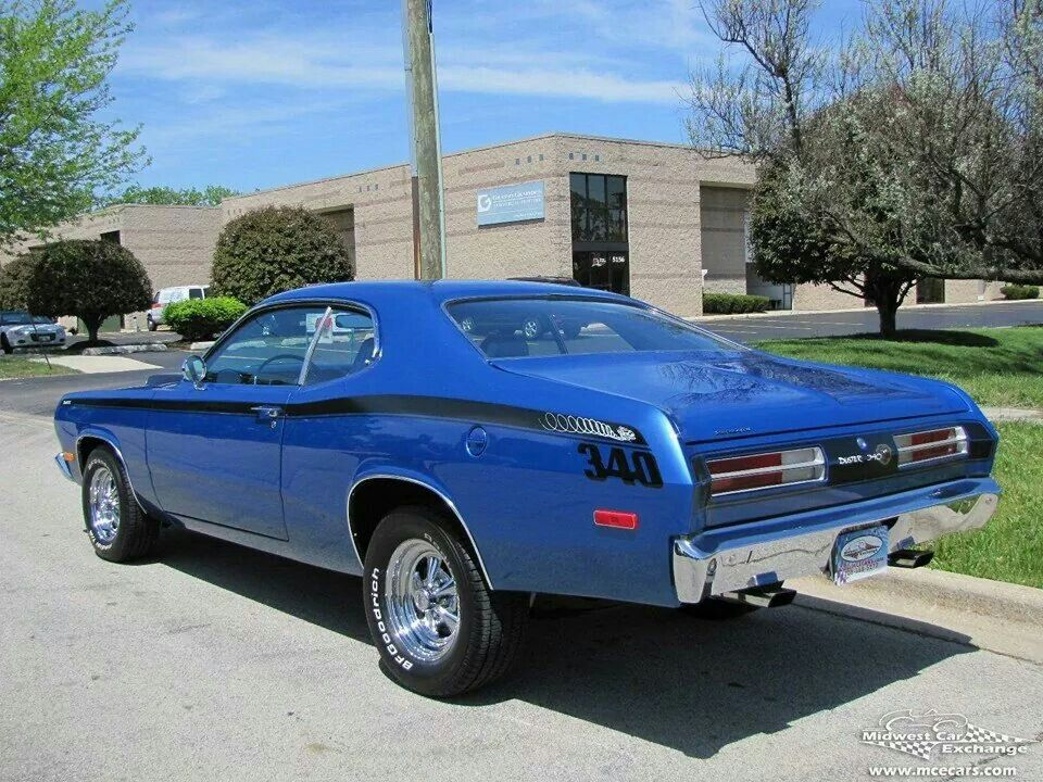 Beautiful Duster 340 six pack  Old vehicles  Pinterest