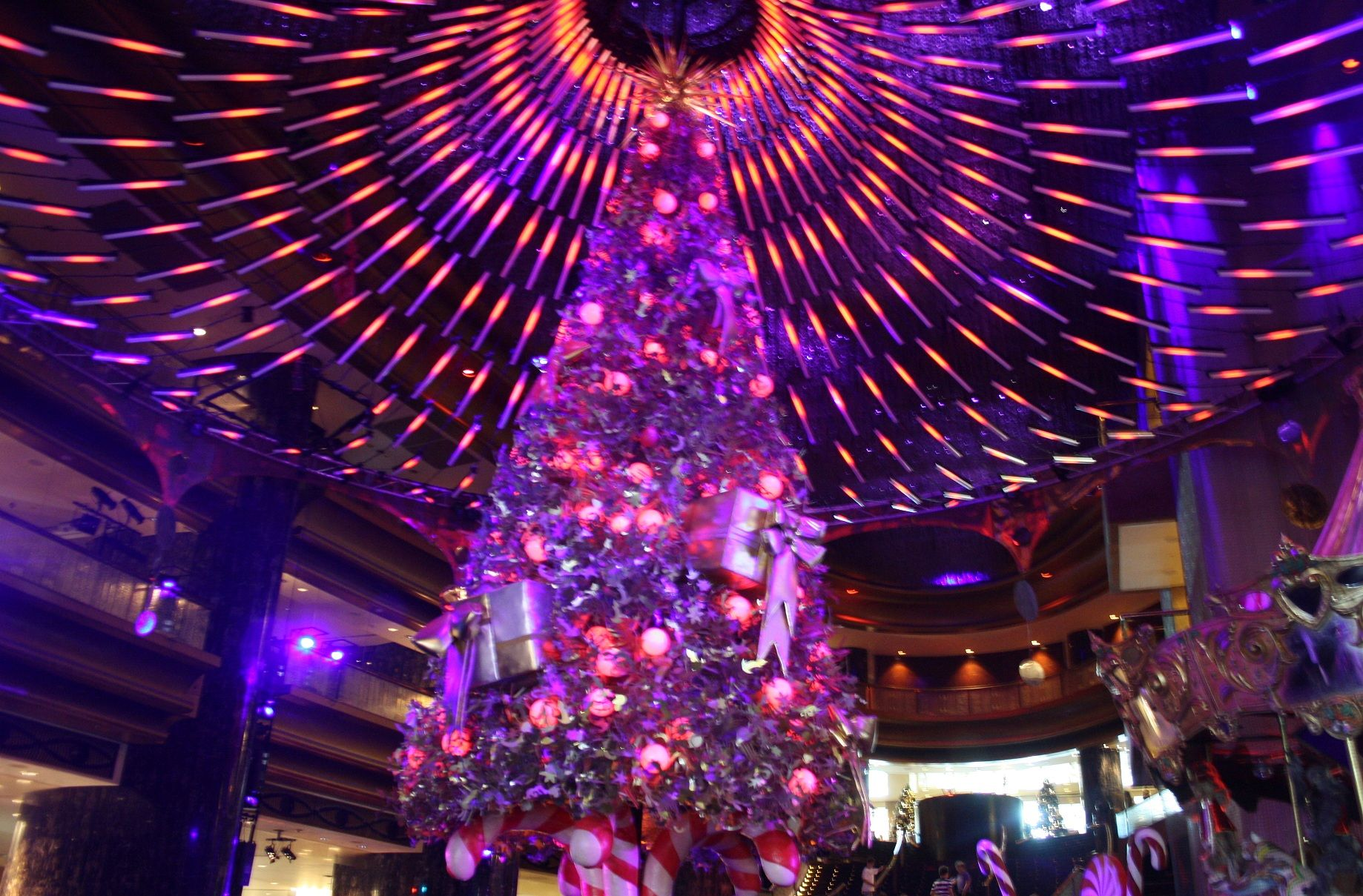 Christmas 2011 at Crown Casino, Melbourne Australia