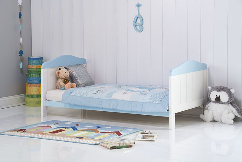 Obaby Whitby Cot Bed White